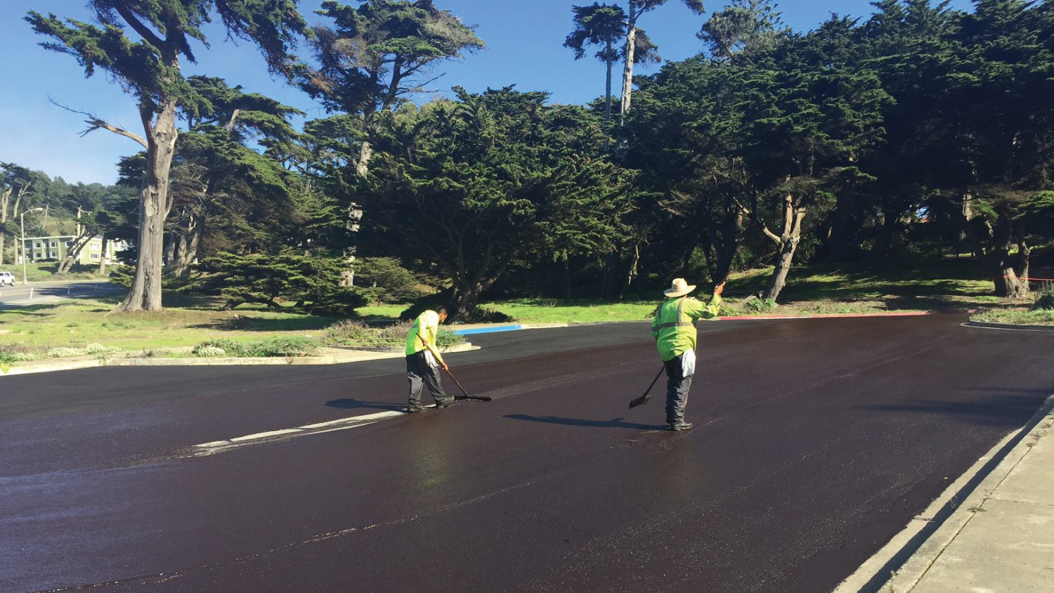 Golden Gate Area pavement preservation project